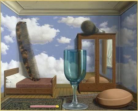 Rene Magritte Les Valeurs Personnelles Personal Values 1952