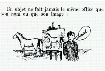 Rene Magritte Les mots et les images 1928 detail