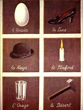 Rene Magritte Woorden en afbeeldingen