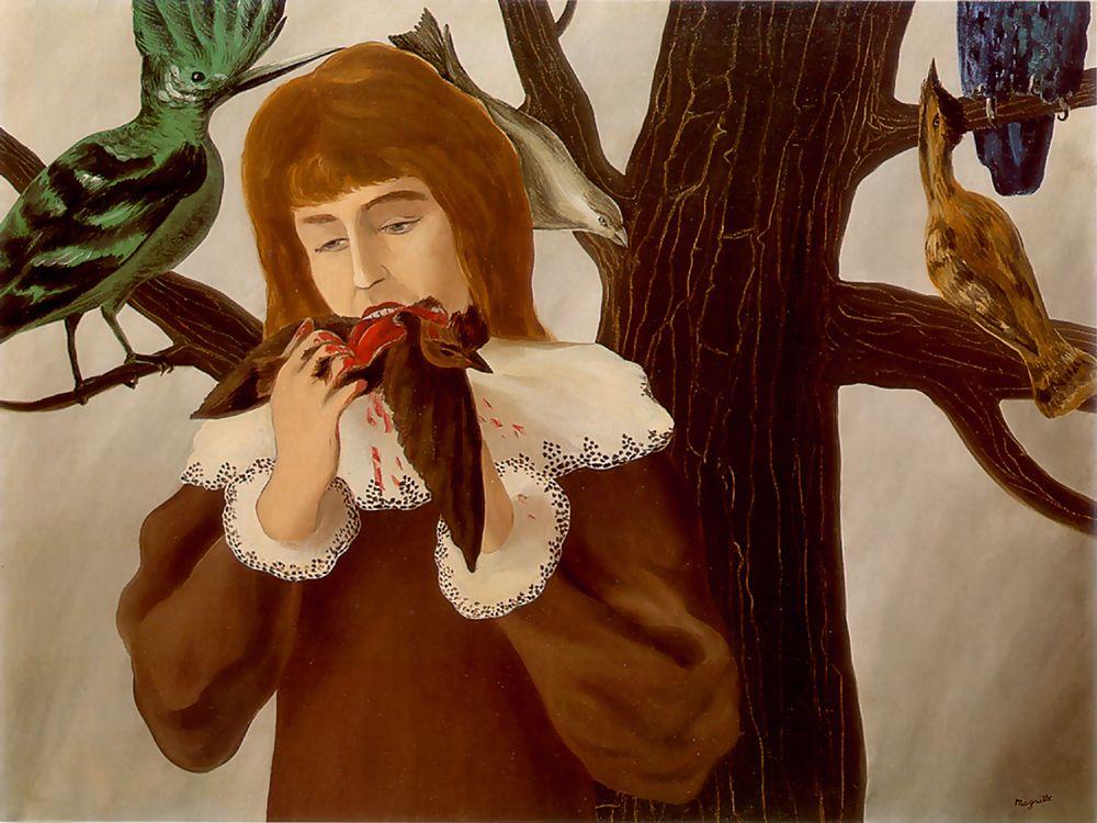 Rene Magritte pleasure