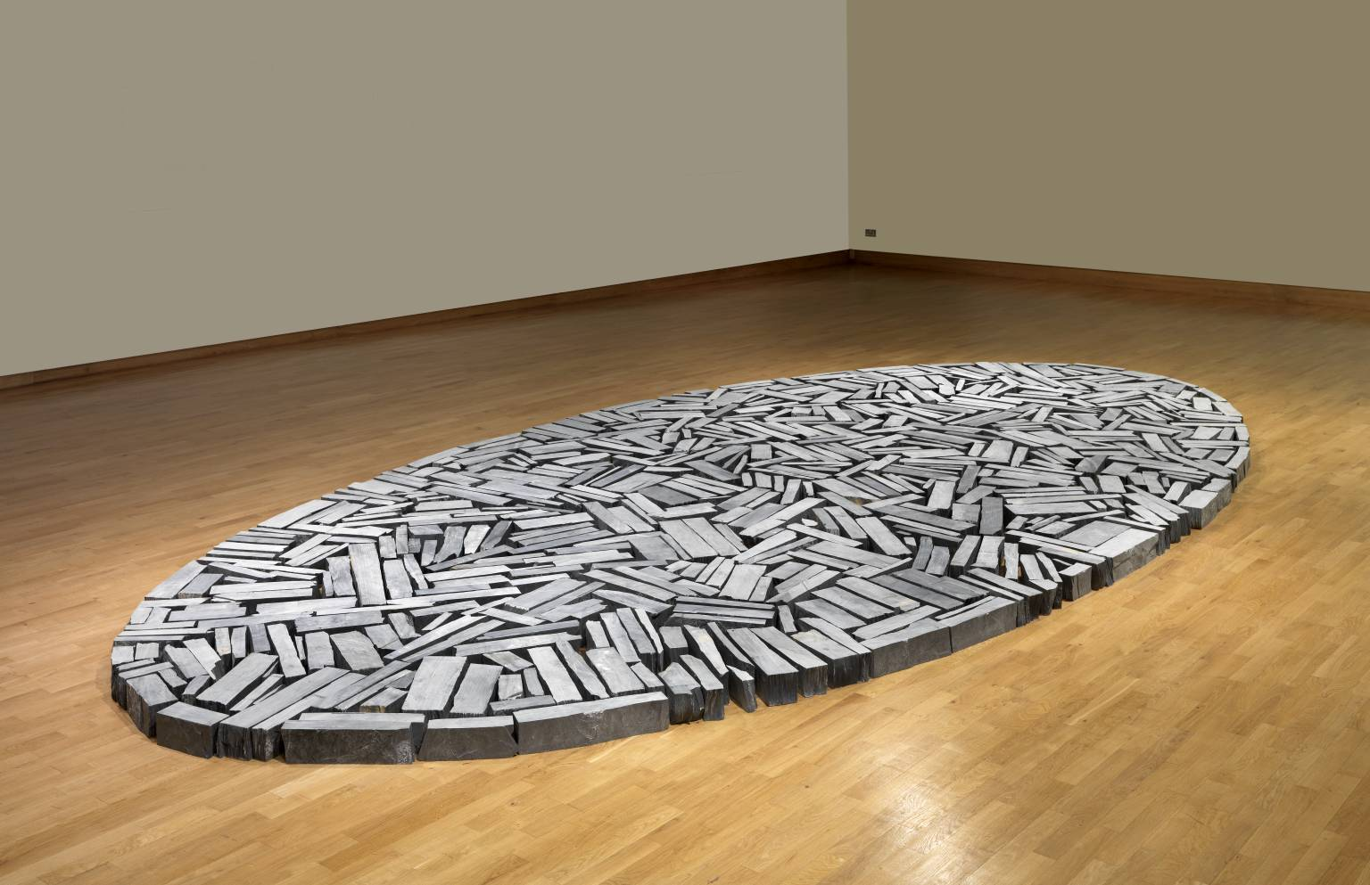 Richard Long Cornish Slate Ellipse 2009