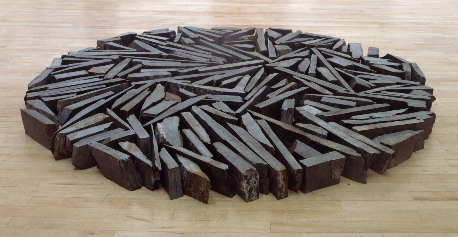 Richard Long South Bank Circle 1991