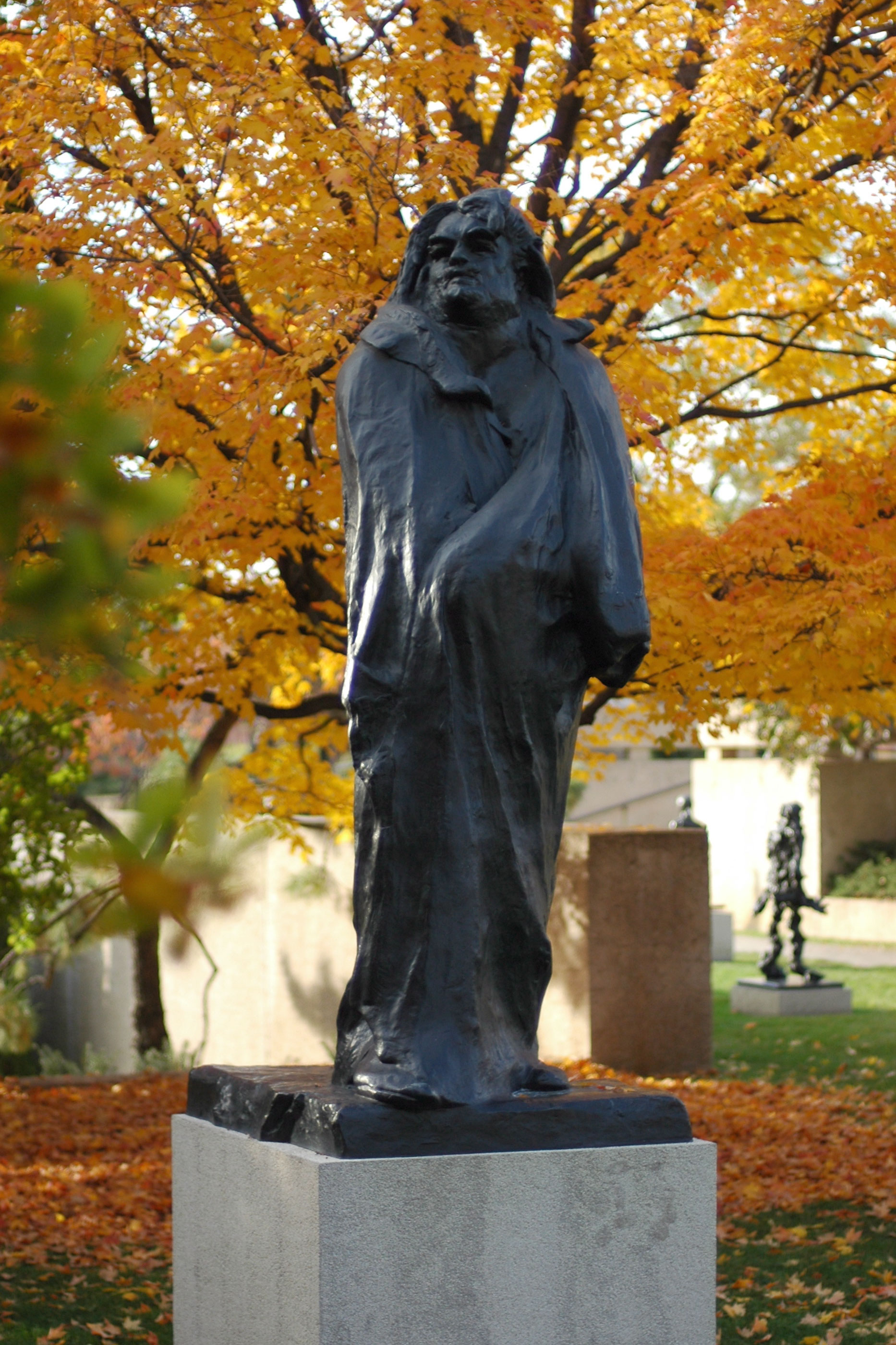 Aguste Rodin monument voor Balzac