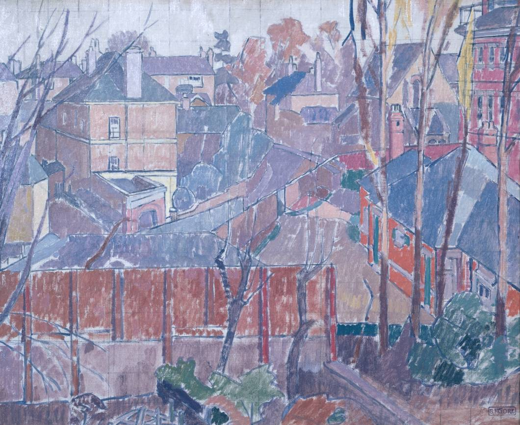 Spencer Gore From a Window in Cambrian Road Richmond 1913