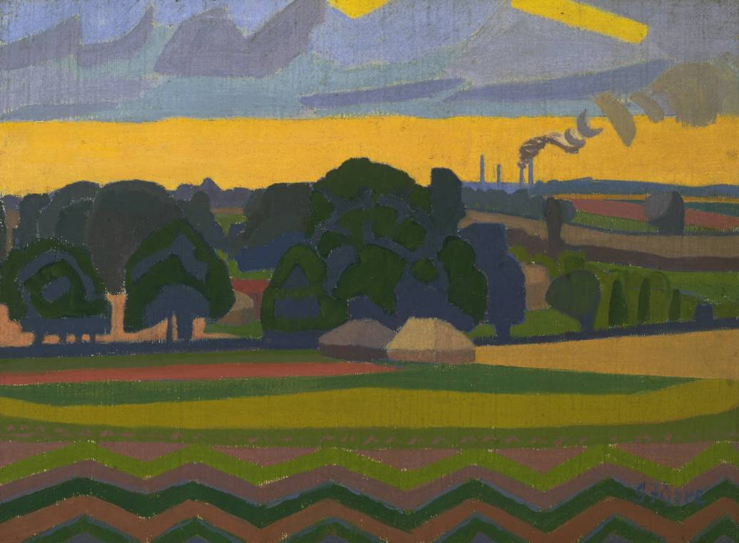 Spencer Gore The Beanfield Letchworth 1912