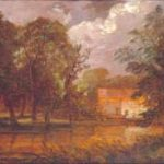 Thomas Churchyard A house by a river