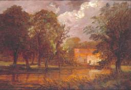 Thomas Churchyard A house by a river