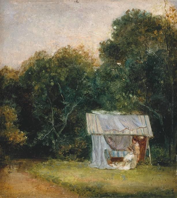 Thomas Churchyard The garden tent