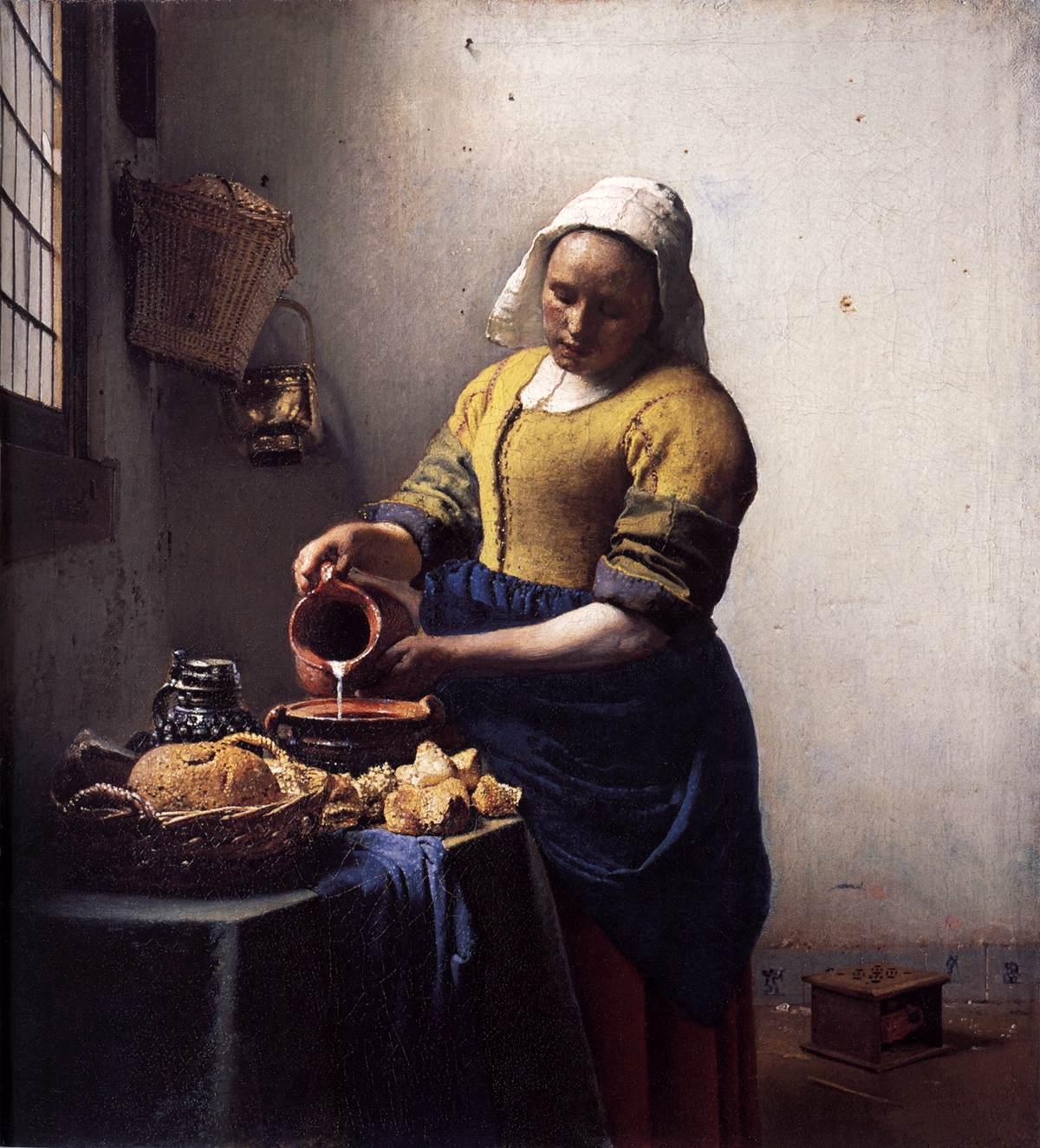 Vermeer de melkmeid