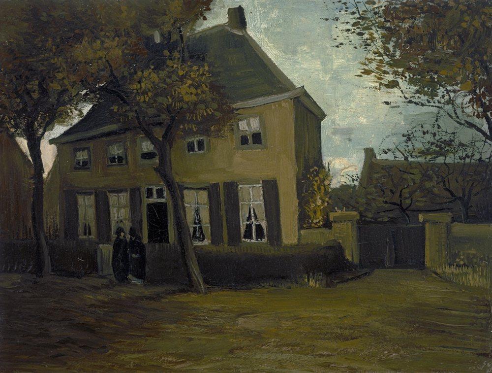 Vincent van Gogh De pastorie te Nuenen 1885