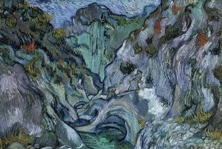 Vincent van Gogh Ravijn 1889