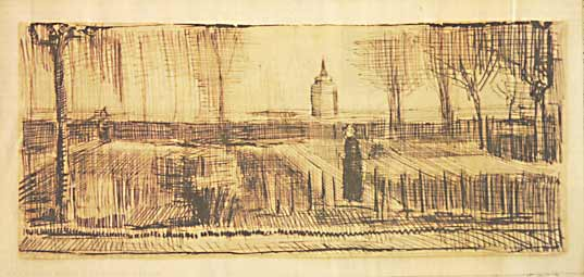 Vincent van Gogh Pastorietuin
