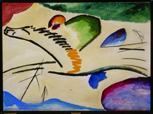 Wassily Kandinsky, Lyrisches, 1911
