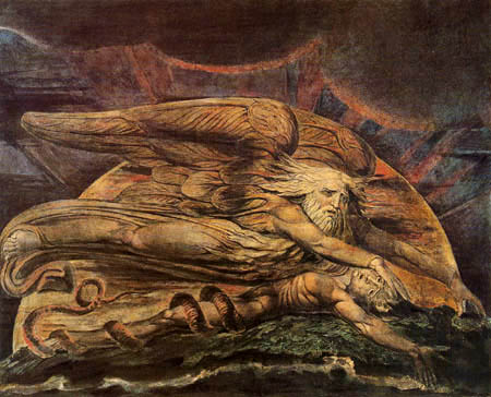 William Blake Elohim creating Adam