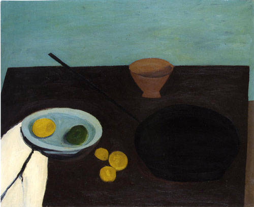 William Scott Still Life with Frying Pan 1946