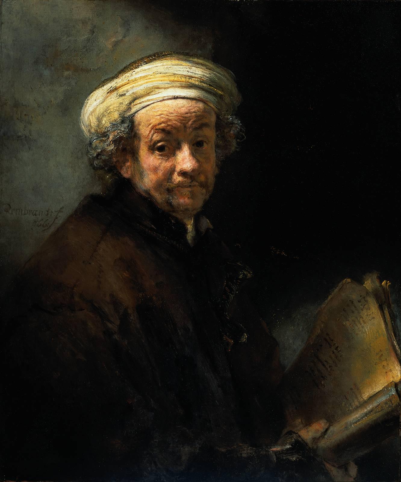 Rembrandt En De Engelen-13-Zelfportret