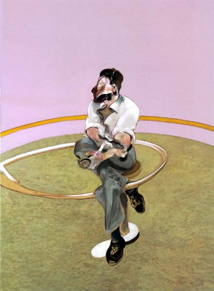 Francis Bacon Portret of Lucian Freud