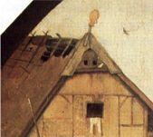Jeroen Bosch De marskramer of De verloren zoon detail