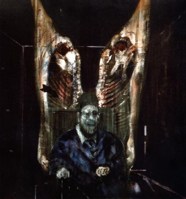 Francis Bacon Figure with Meat 1954