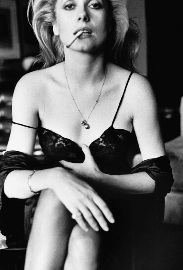 Helmut Newton: Catherine Deneuve, Esquire, Paris, 1976