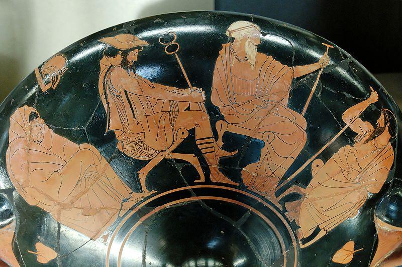 Deel-Griekse Drinkschaal