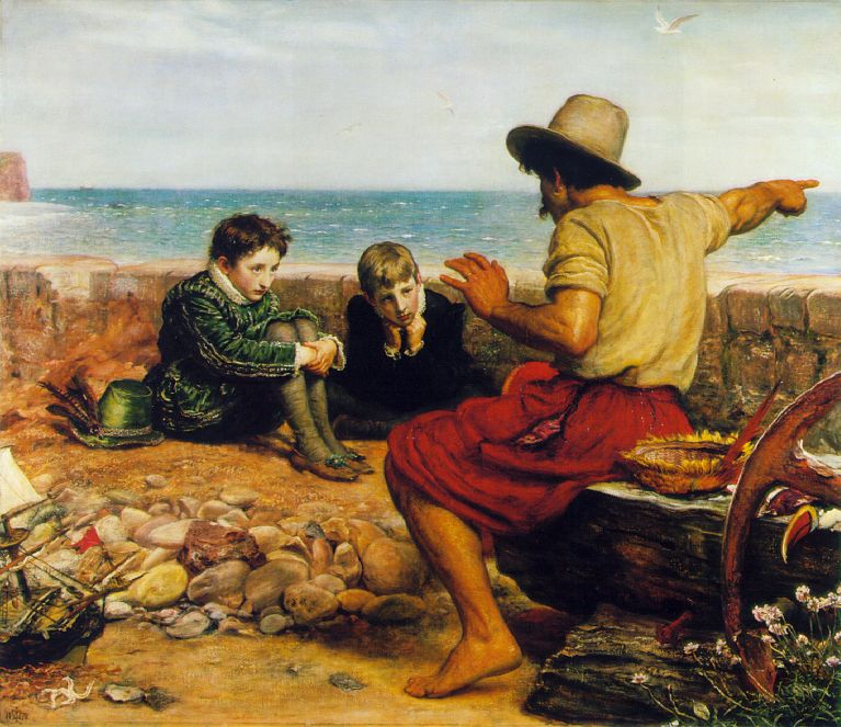 John Everett Millais The boyhood of raleigh