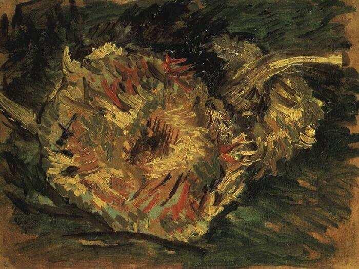 Vincent van Gogh Twee zonnebloemen