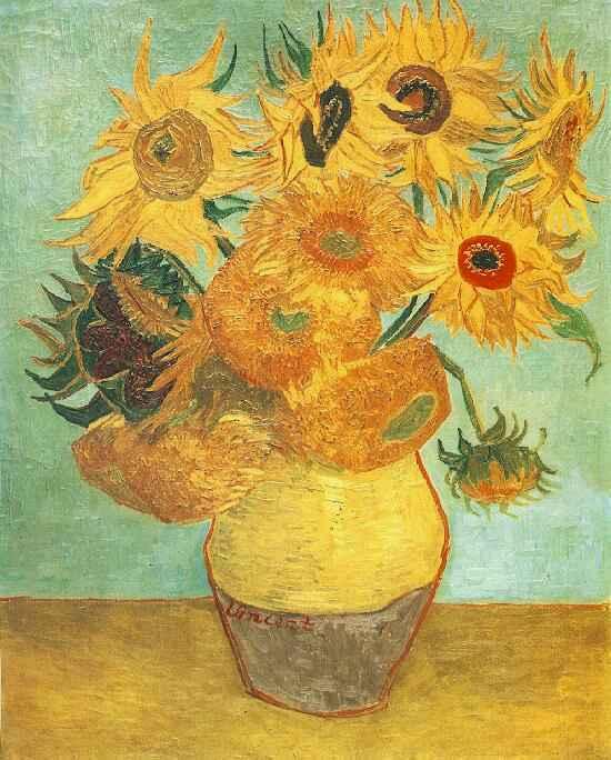 Gogh Vincent Van Ommuurd Veld-Overzicht