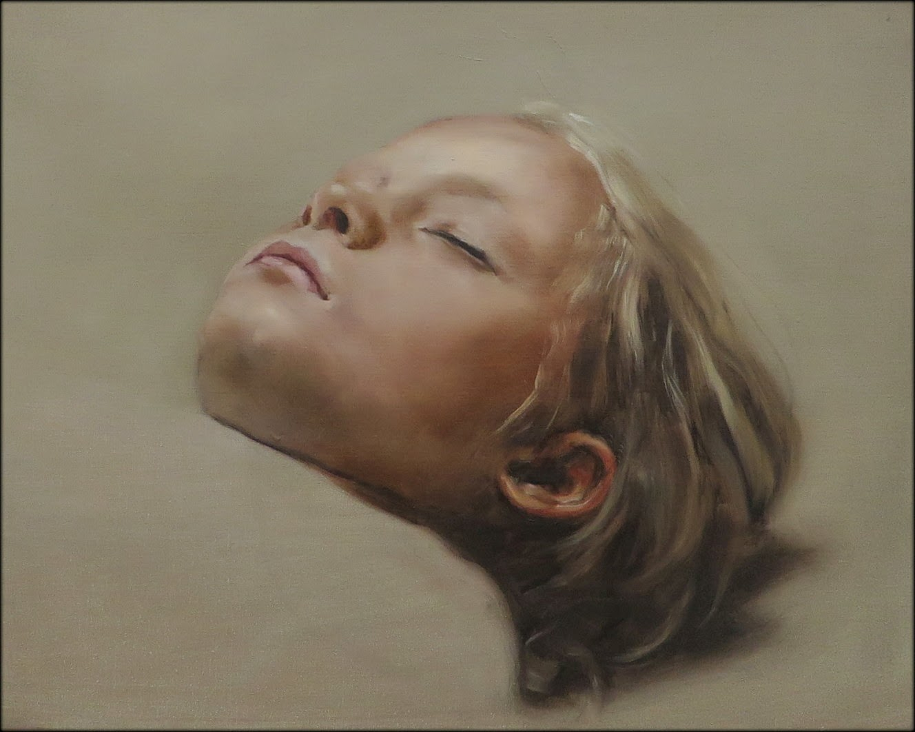 Michael Borremans - the sleeper