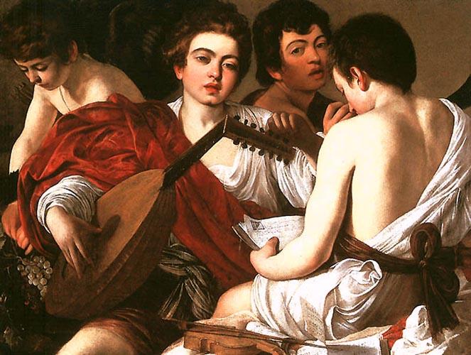 Caravaggio Muzikanten 1594-5