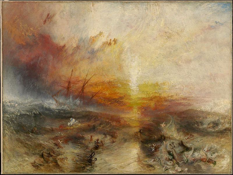 Joseph Mallord William Turner The Slave-ship