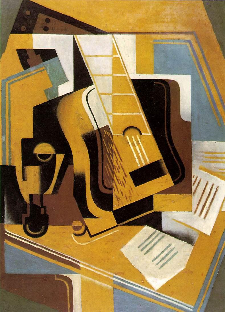 Juan Gris The Guitar 1918