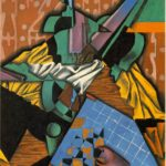 Juan Gris Violin and Checkerboard
