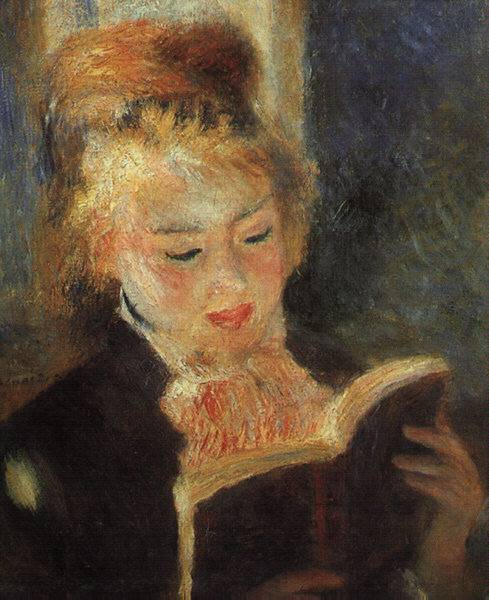 Pierre Auguste Renoir woman reading