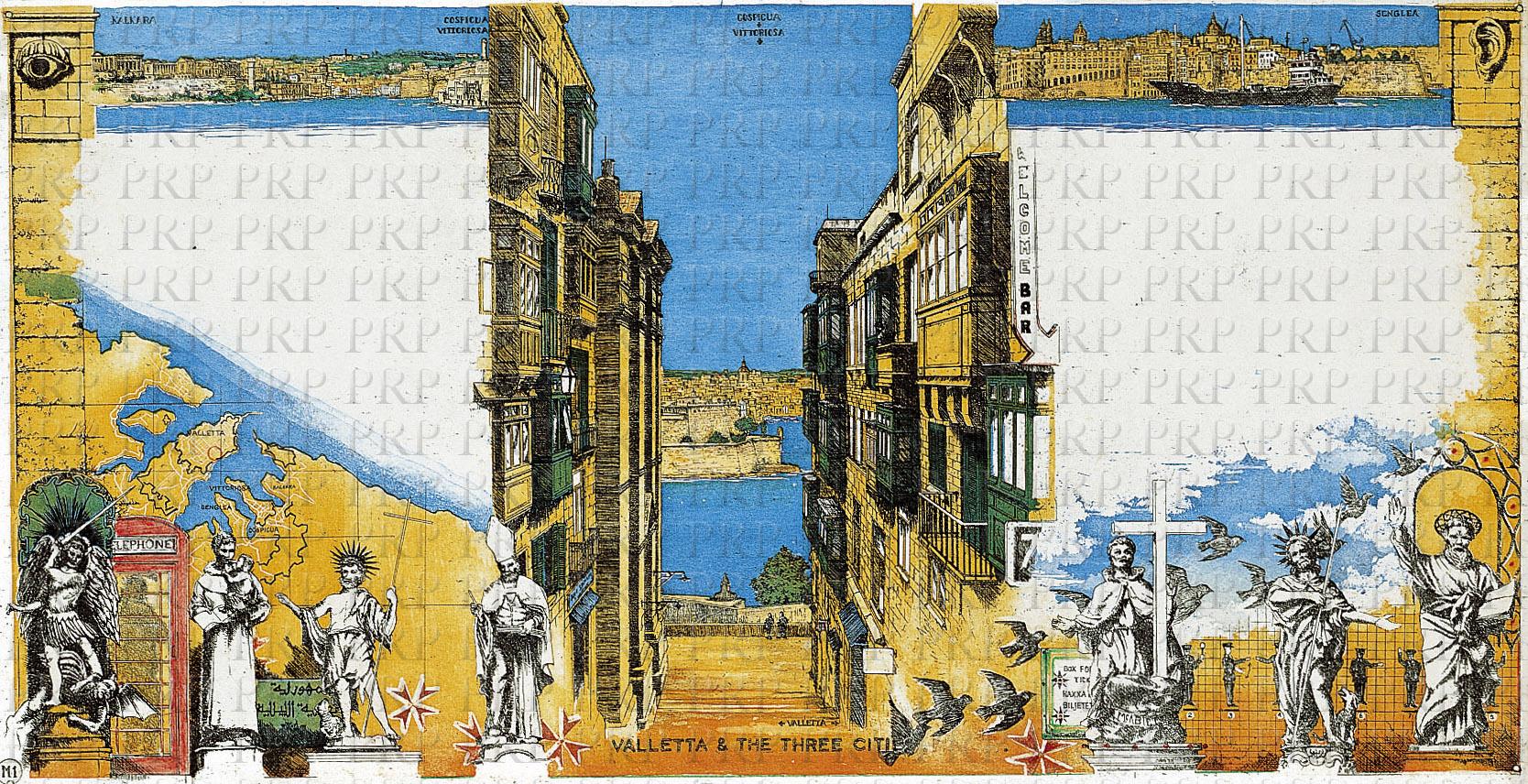 Rolf Weijburg Valletta and the Three Cities