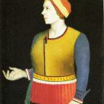 Kazimir Severinovitsj Malevitsj his wive