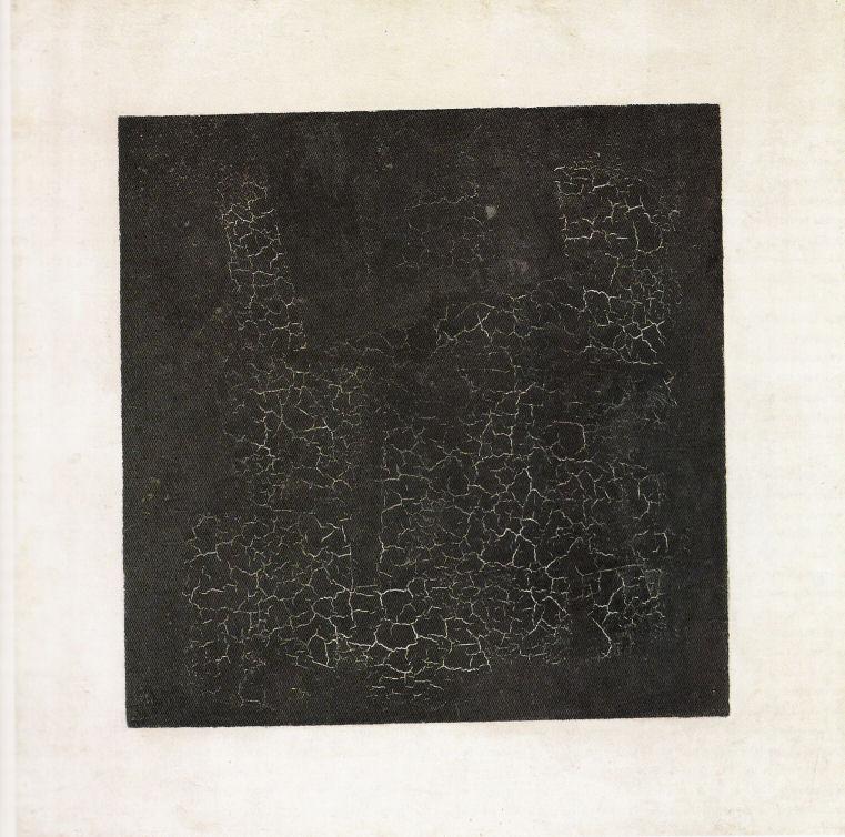 Kazimir Severinovitsj Malevitsj (1878 – 1935) 'Zwart vierkant' (1915 en 1929) olieverf op linnen 80 x 80 cm